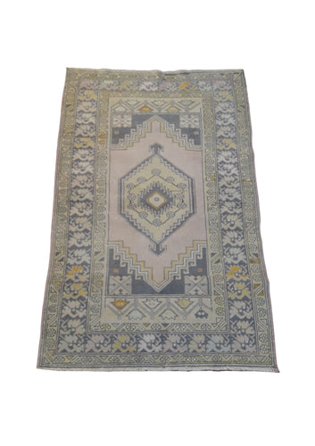 Vintage Turkish Rug 3'7