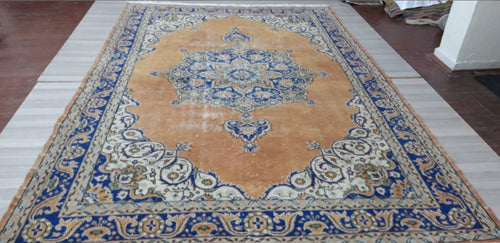 Vintage Turkish Rug - 10'6