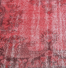"Load image into Gallery viewer, Vintage Overdyed Turkish Rug - 9'2"" x 5'10"" - souks du monde"