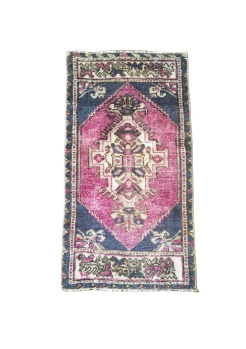 Turkish Vintage Rug - 1'4