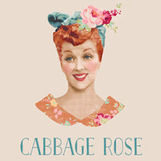Tilda - Cabbage Rose