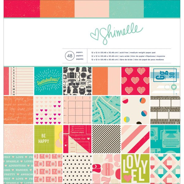 "Shimelle Paper Pad 12""X12"" - Save £5"