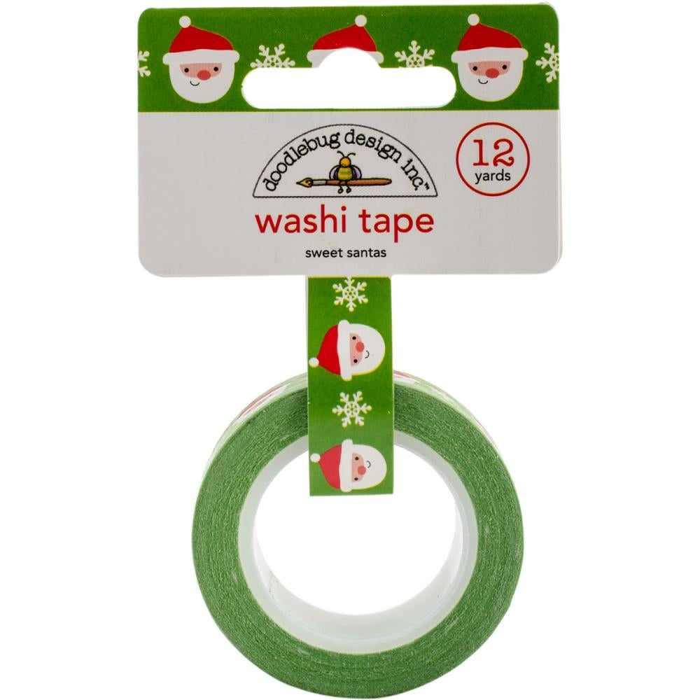 Doodlebug Designs Washi Tape - Sweet Santa