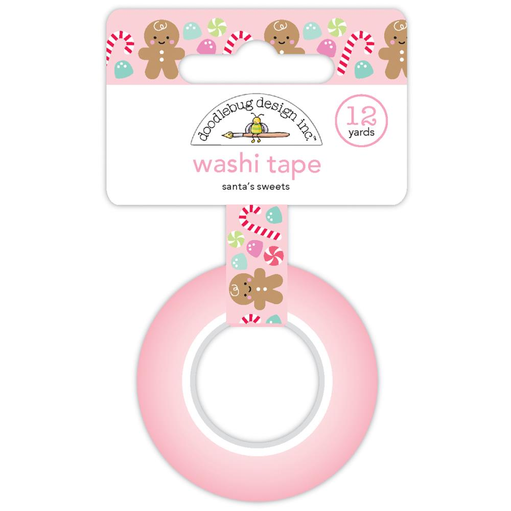 Doodlebug Designs Washi Tape - Santa's Sweets