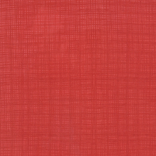 Kate & Birdie Winterberry - Linen Texture Red