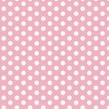 Tilda Basics - Medium Dots Pink