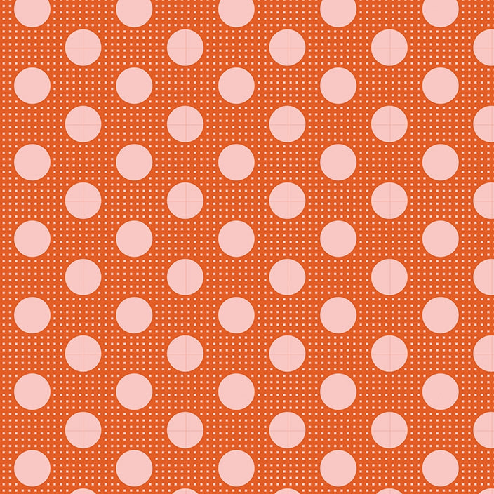 Tilda Basics - Medium Dots Ginger