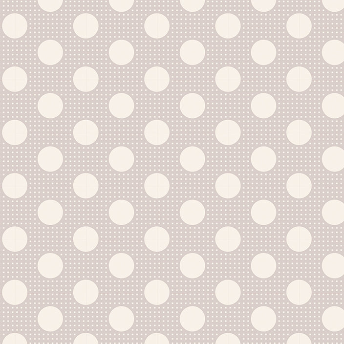 Tilda Basics - Medium Dots Light Grey - BOLT END