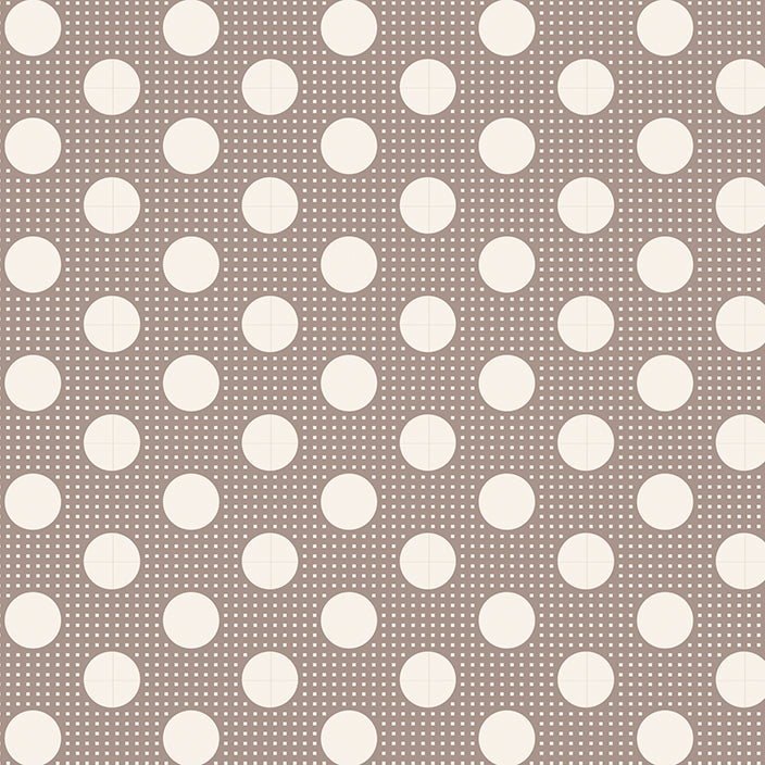 Tilda Basics - Medium Dots Grey