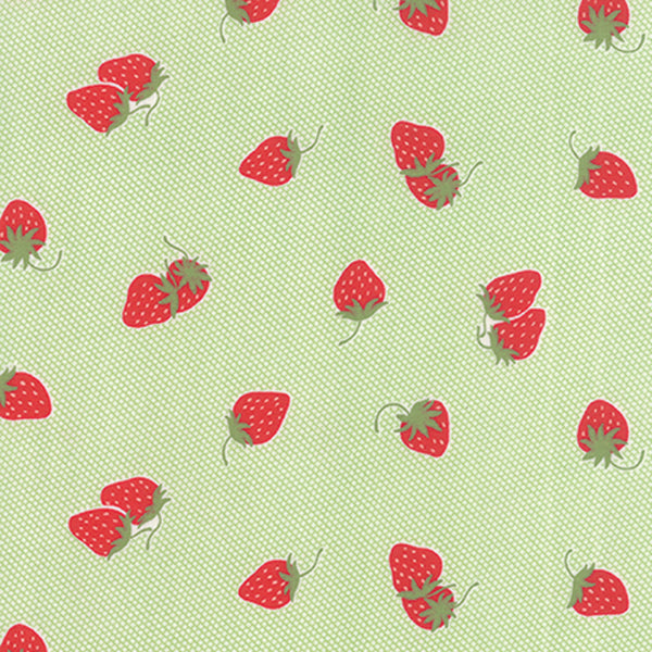 Hello Darling - Strawberries & Cream Green