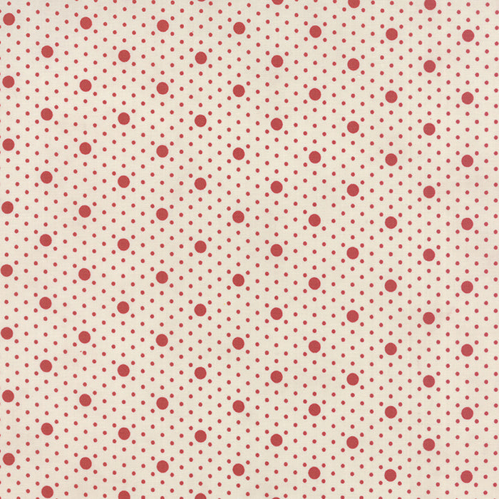 Miss Scarlet - Minick & Simpson - Stone Polka Dot - BOLT END