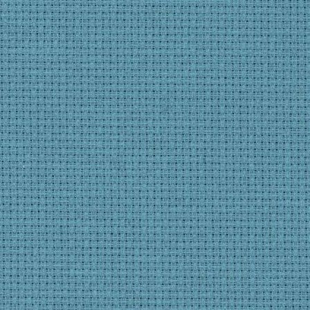 Zweigart Aida 14 Count - Misty Blue