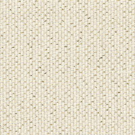 Zweigart Aida 14 Count - Cream & Gold Flecked Glitter