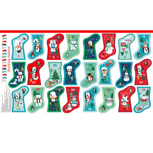 Frosty Mini Stocking Advent Calendar