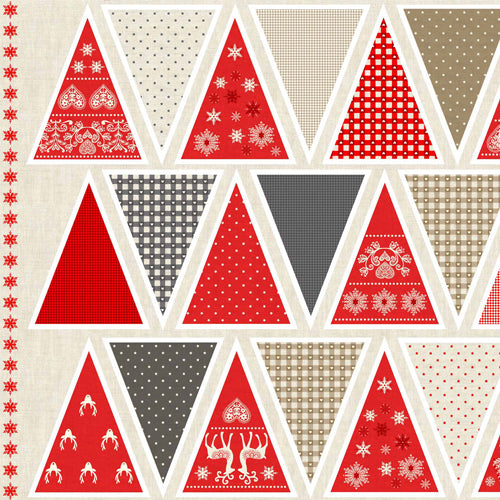 Scandi 3 - Makower - Scandi Bunting
