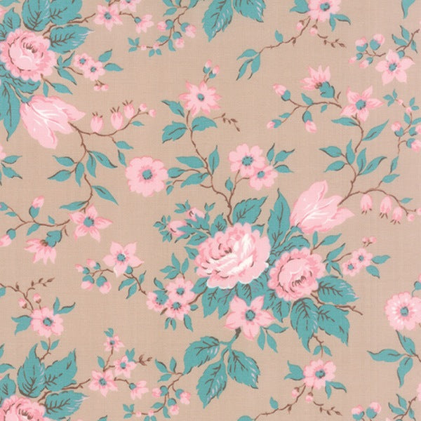 Taupe Antique Floral - Kindred Spirit