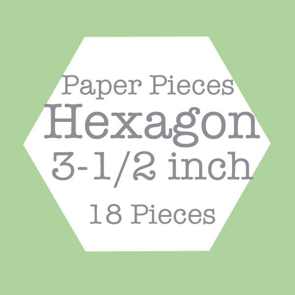 Paper Pieces - Hexagon 3 1/2 inch