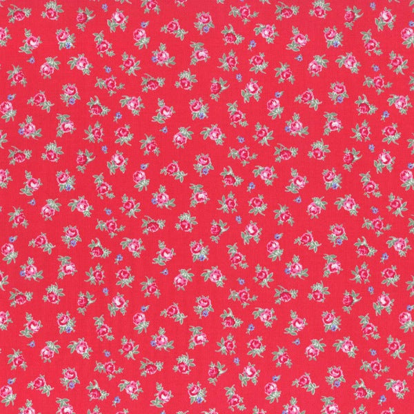 Lecien Flower Sugar - Rosey Red