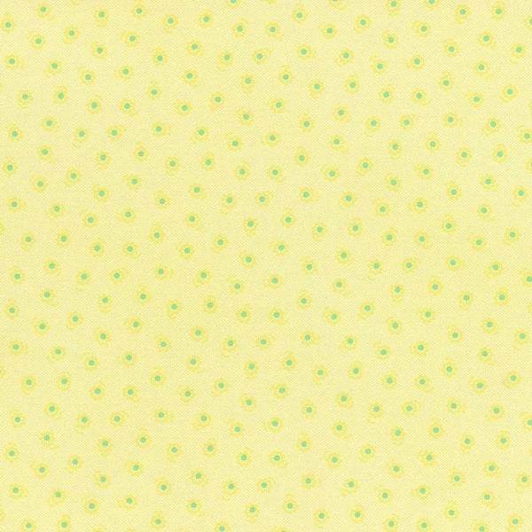 Lecien Flower Sugar - Tonal Floral Yellow