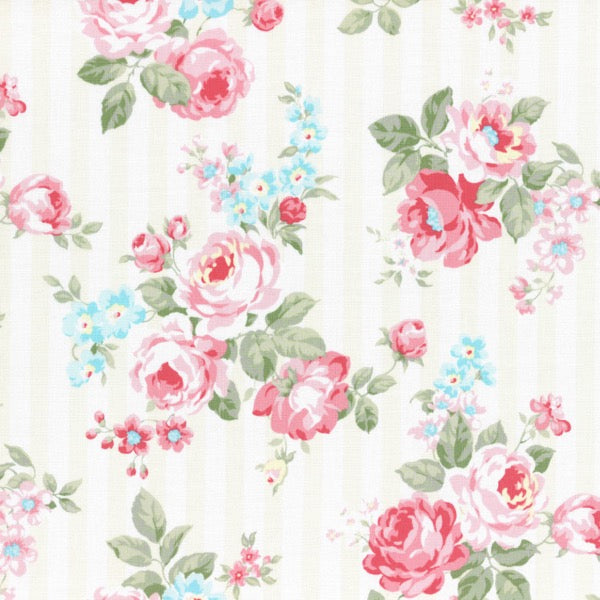 Lecien - Princess Rose - Rose Stripe - Cream