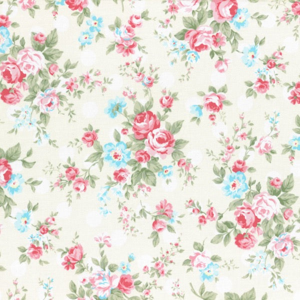 Lecien - Princess Rose - Rose Spots - Cream
