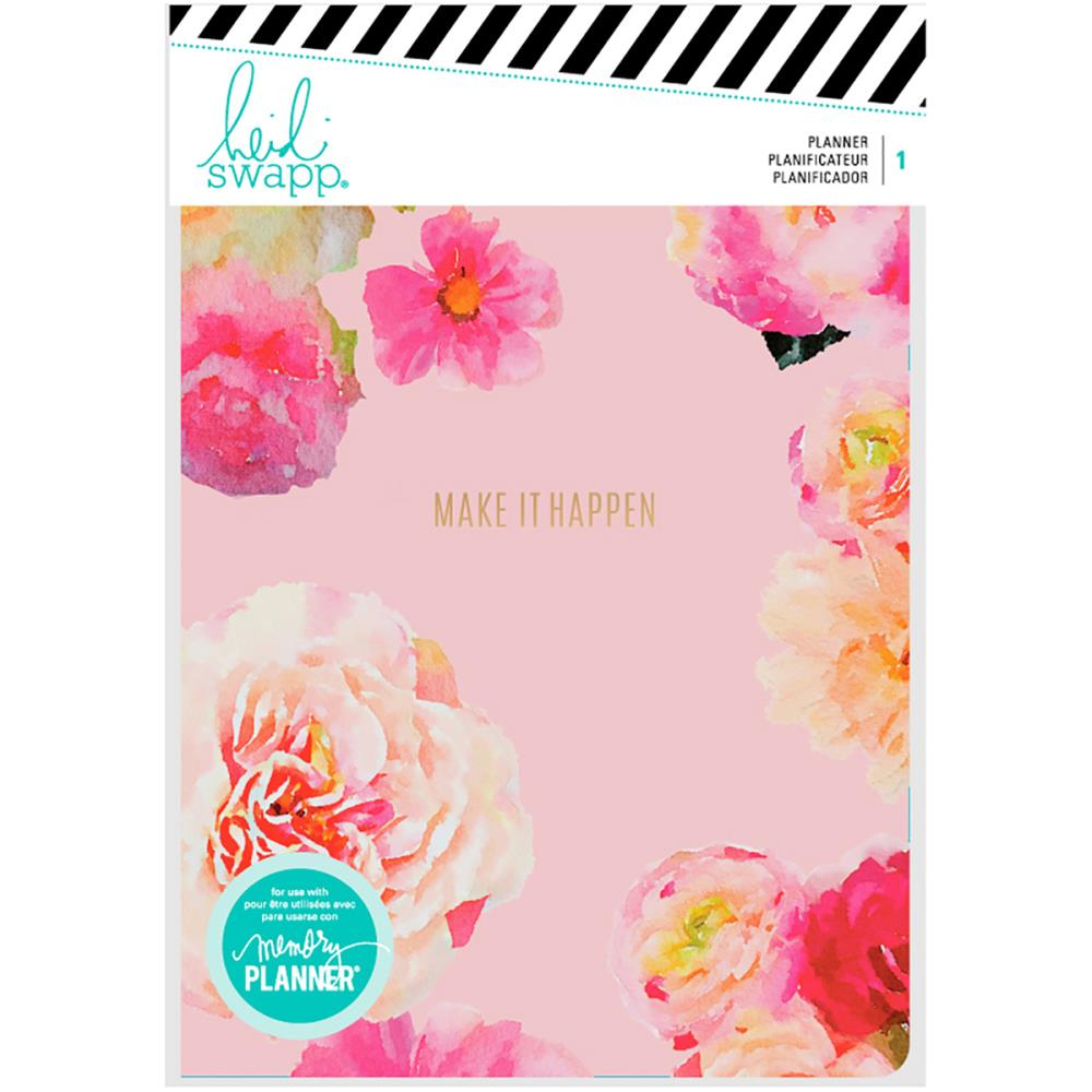 Heidi Swapp Memory Planner: Make it Happen Floral