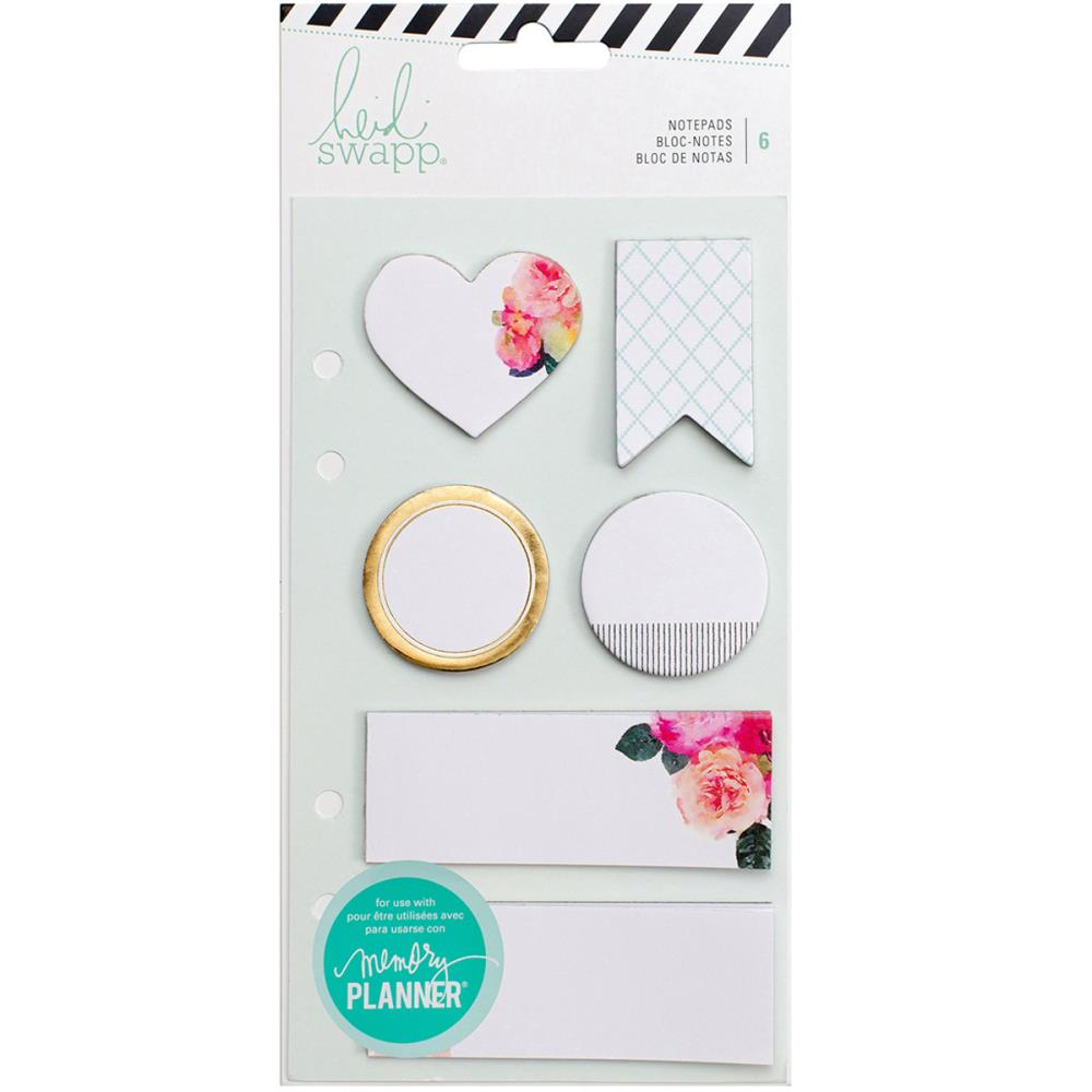 Heidi Swapp Memory Planner - Sticky Notepads White