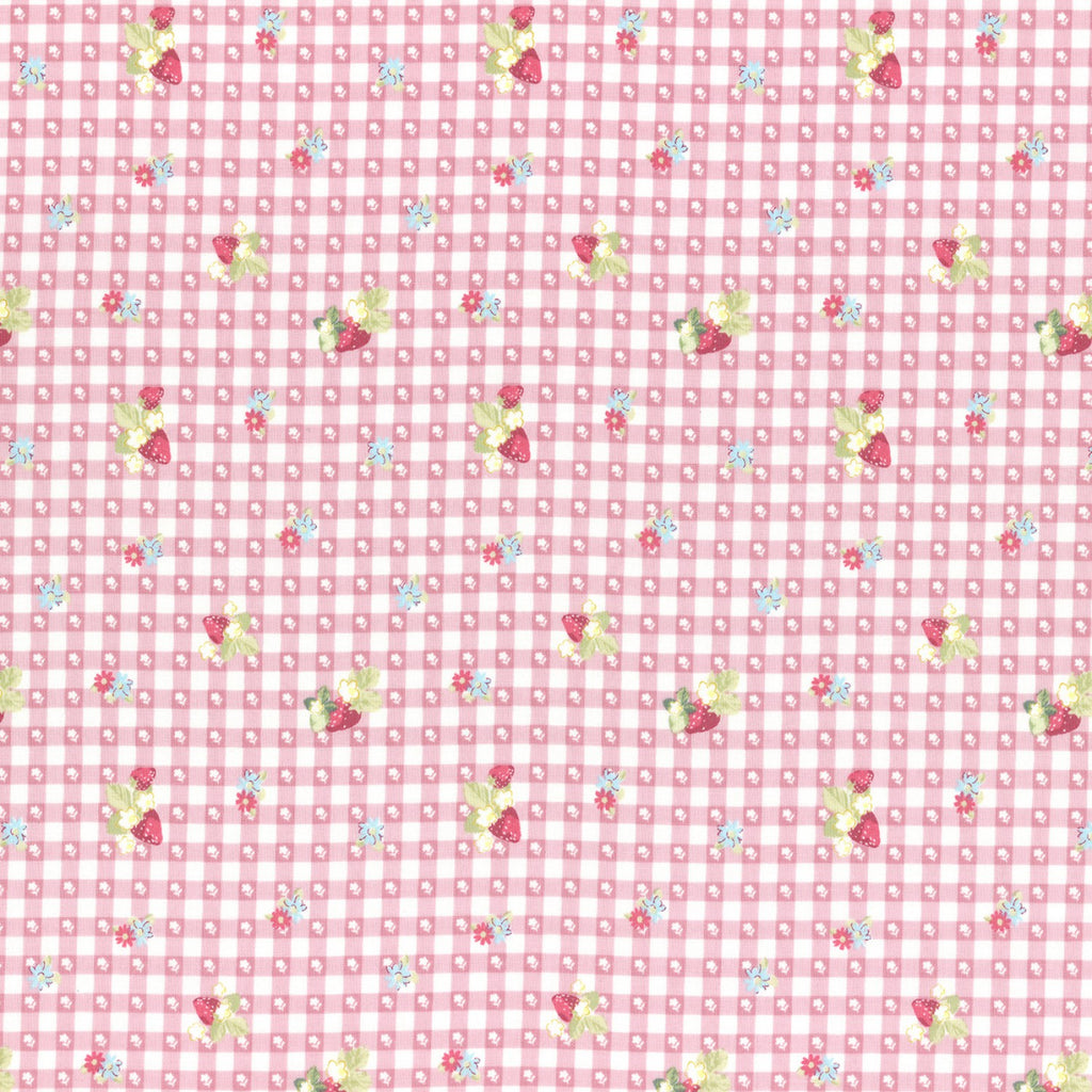 Lecien La Conner - Berry Gingham - Pink