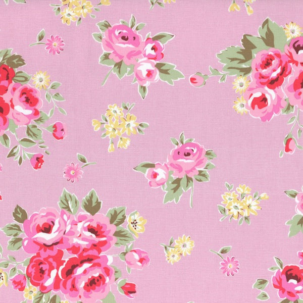 Lecien Flower Sugar Maison - Large Rose Pink - BOLT END