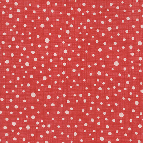 Kate & Birdie Winterberry - Snowy Dots Red