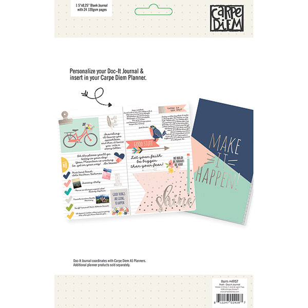 Carpe Diem Posh - Doc It Journal