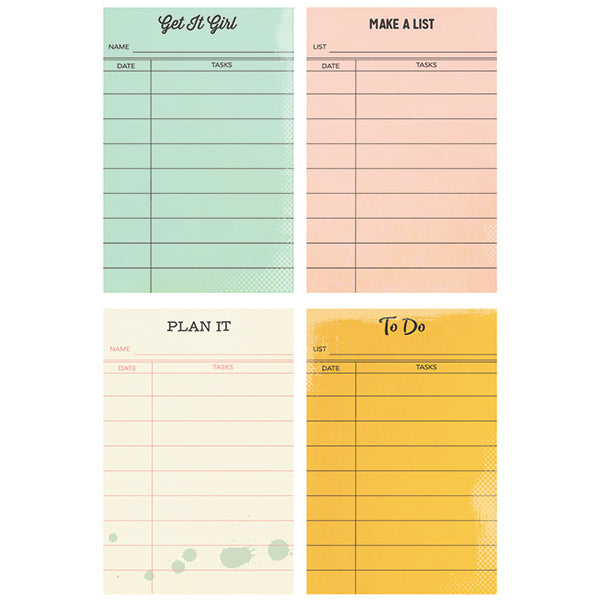 Carpe Diem Reset Girl - 2x3 Sticky Notes