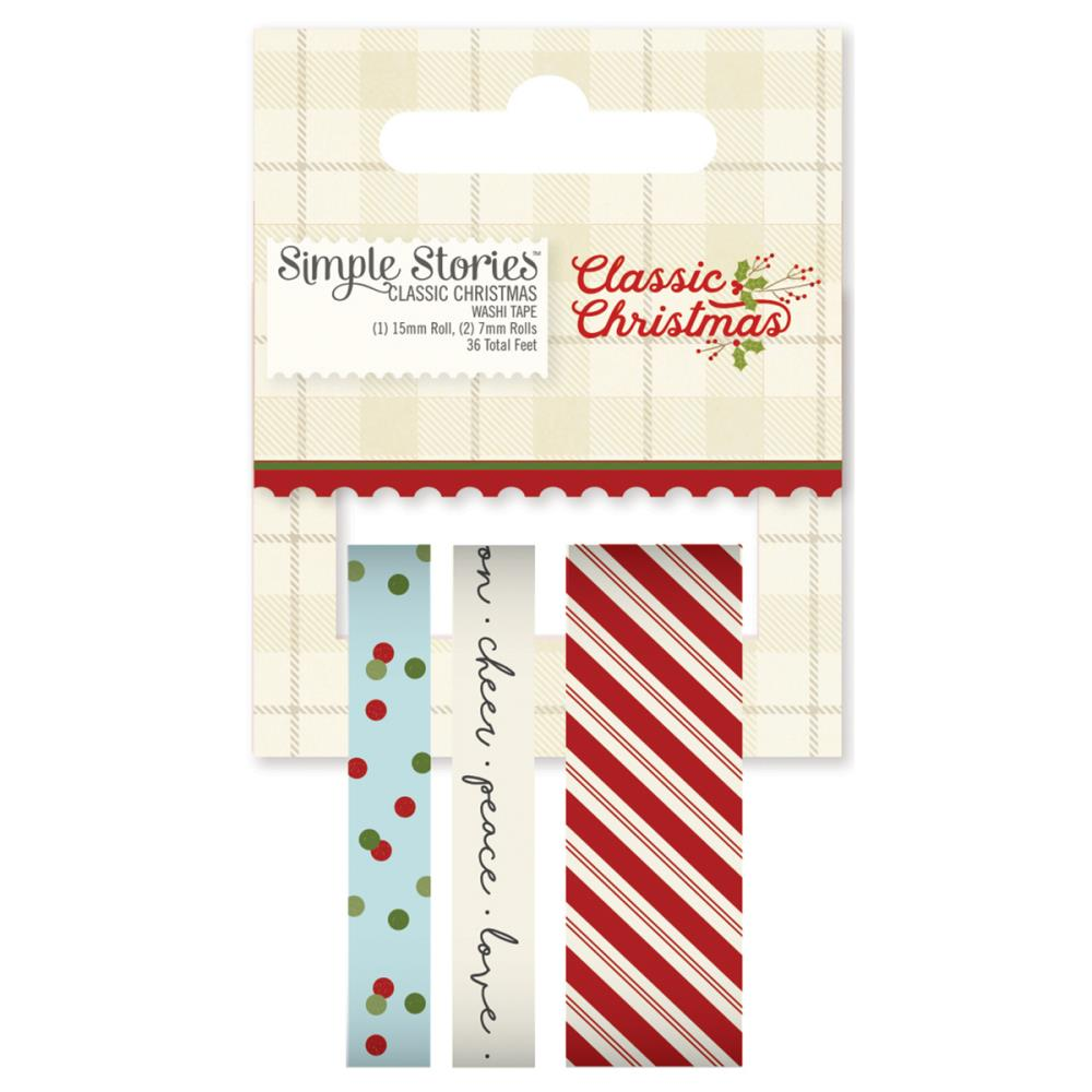 Simple Stories - Washi Tape - Classic Christmas