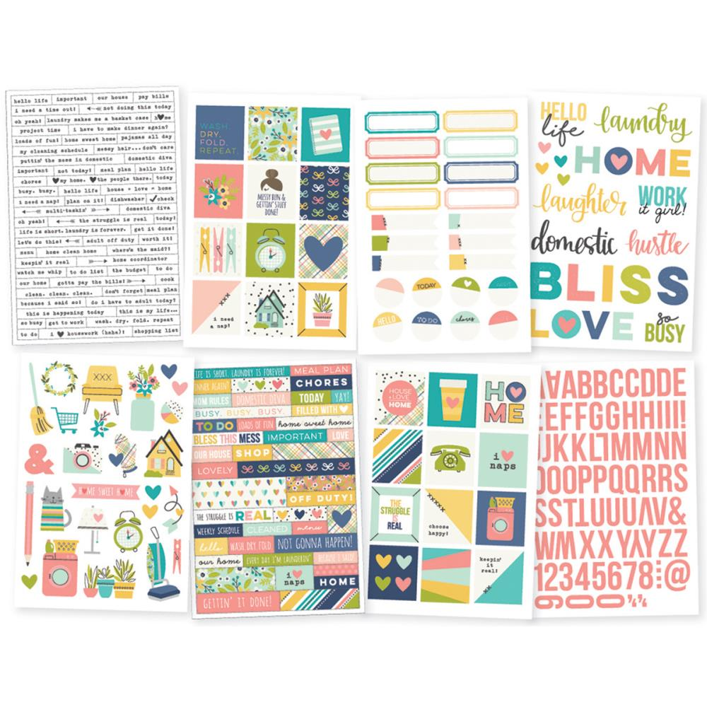 Simple Stories - Domestic Bliss Stickers