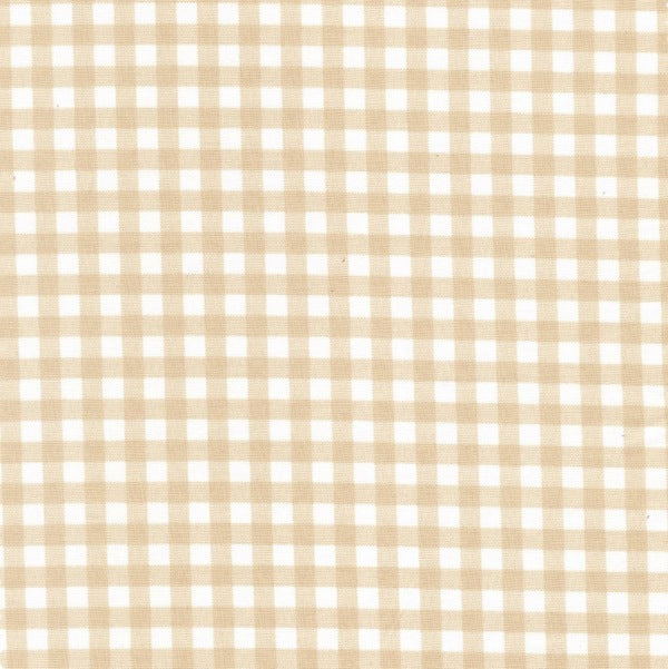 Sevenberry Beige Gingham