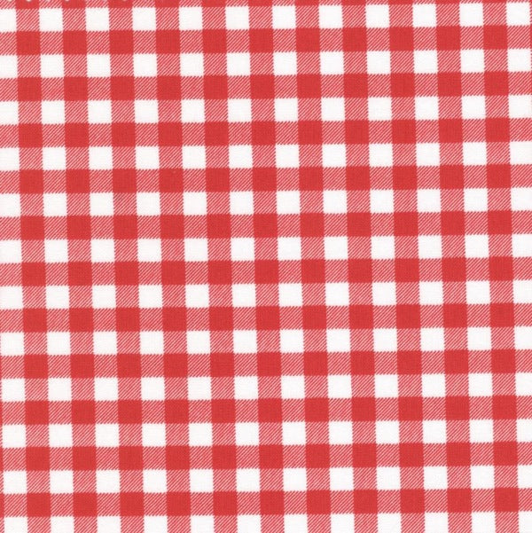 Sevenberry Red Gingham