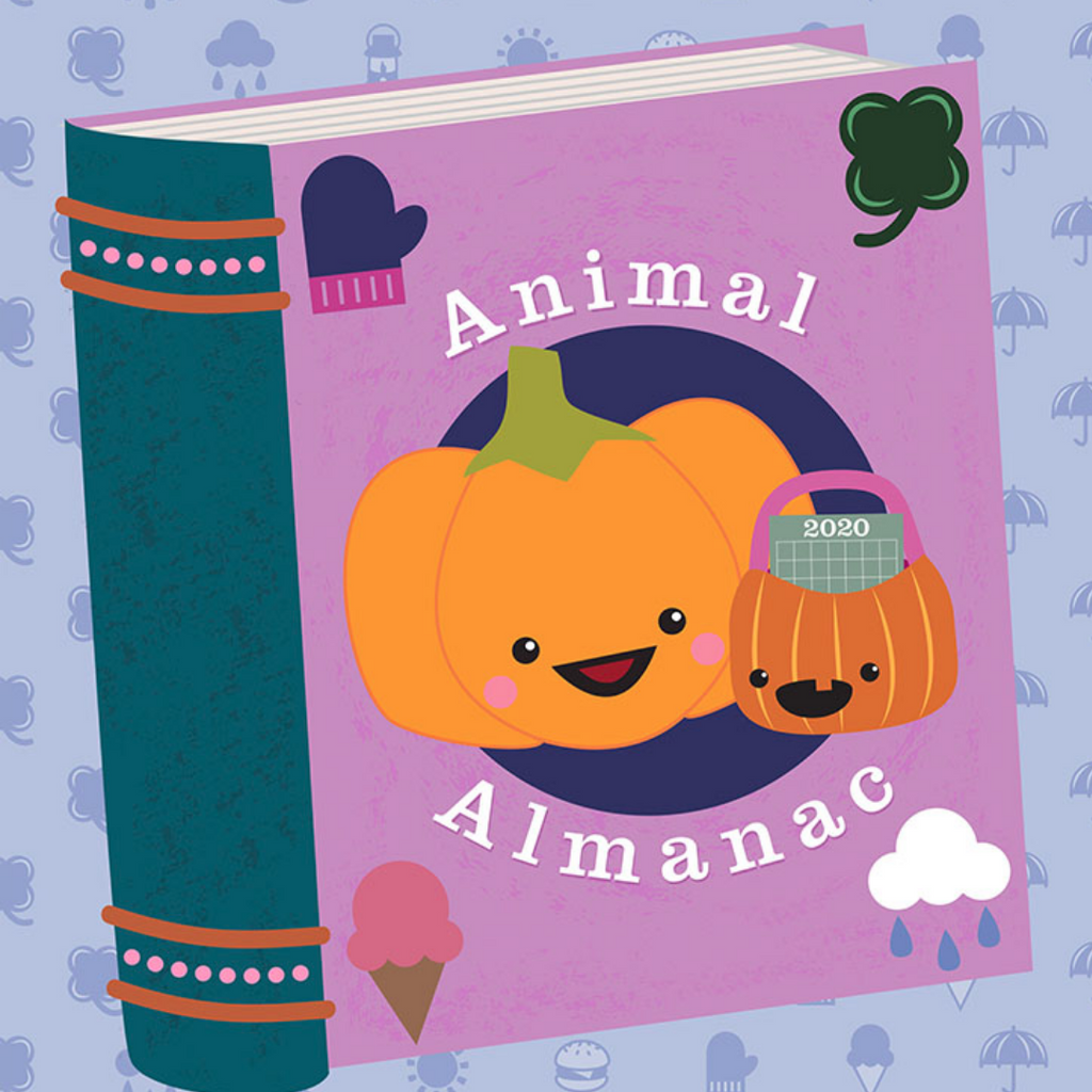 KIT - Animal Almanac - 14ct Aida & Threads