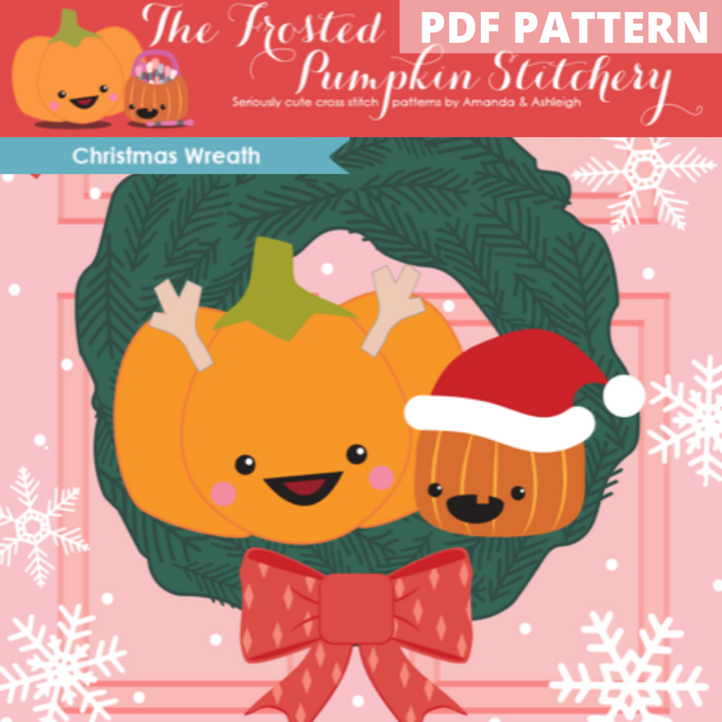 Christmas Wreath Club - PDF PATTERN DOWNLOAD