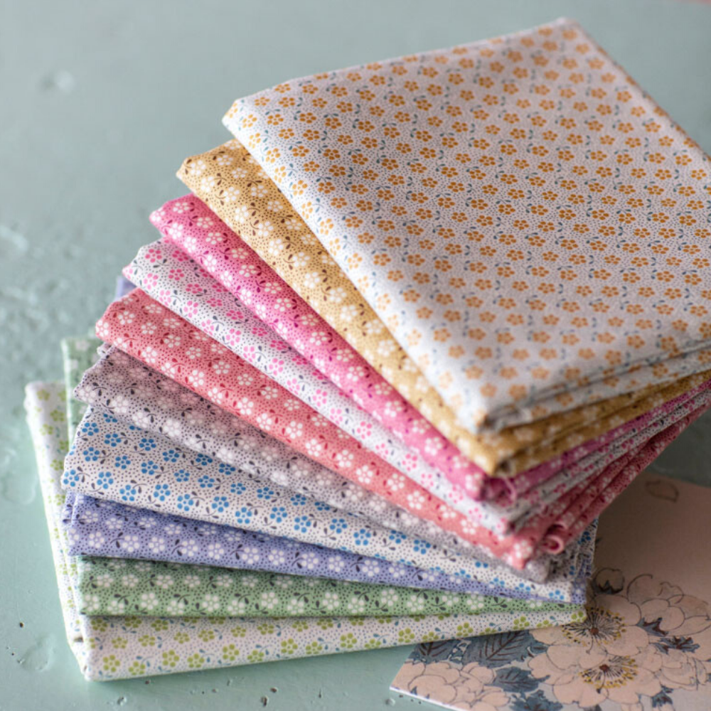 Tilda Happy Campers - Meadow Essentials Fabric Bundle - SAVE 10%