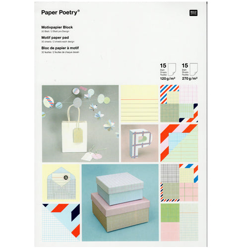 Graphic Paper Pad