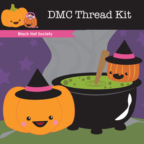 Black Hat Society - DMC Thread Pack