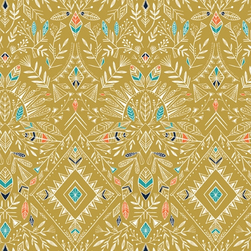 Boho Meadow - Dashwood Studio - Gold Geometric