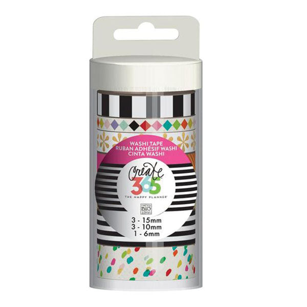 MAMBI Create 365 - Washi Tapes - Bright No.2