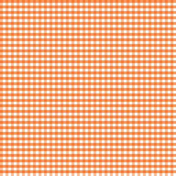Riley Blake - Small Gingham - Orange