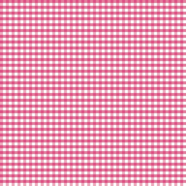 Riley Blake - Small Gingham - Hot Pink