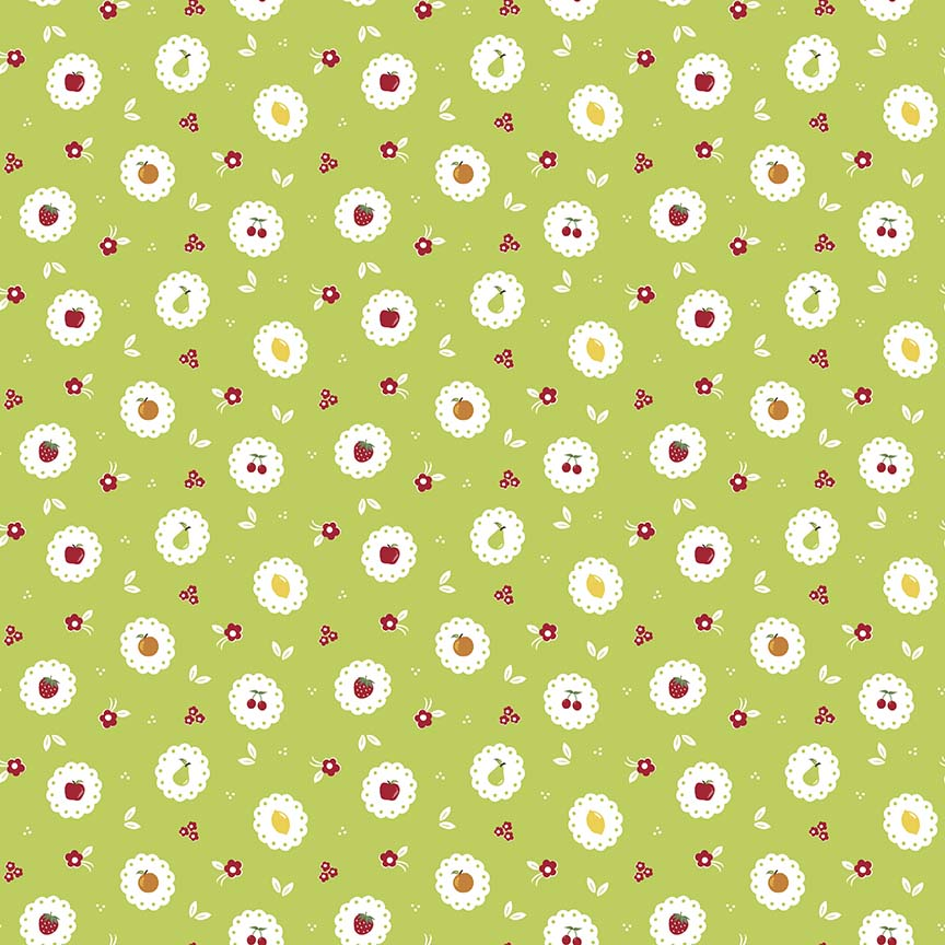 Sweet Orchard - Orchard Scallop Green
