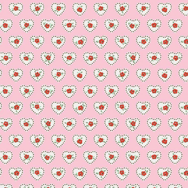 Little Dolly - Hearts Pink