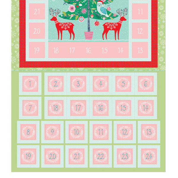 Winter Wonderland - Dashwood Studios - Advent Calendar Panel