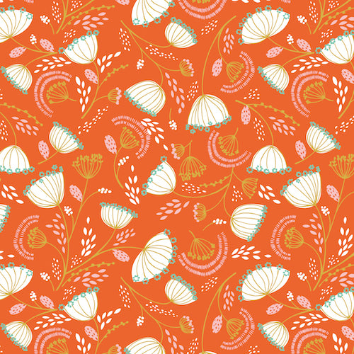 Cuckoo's Calling - Dashwood Studio - Orange Floral