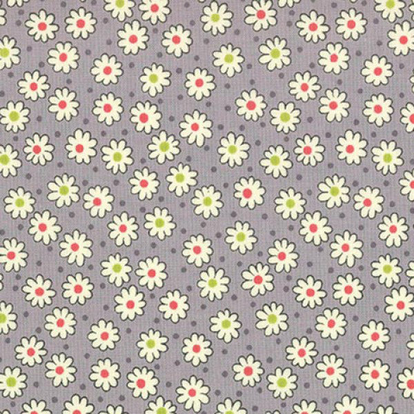Lecien Retro 30s 2016 - Grey Little Daisy